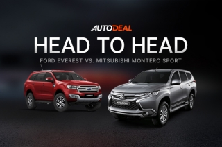 Head-to-Head: Mitsubishi Montero Sport vs. Ford Everest