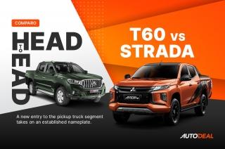 Head to Head: Mitsubishi Strada vs Maxus T60