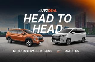 Head to Head: Mitsubishi Xpander Cross vs Maxus G50