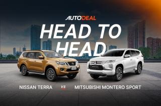 Head to Head: Nissan Terra vs Mitsubishi Montero Sport
