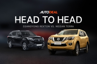 Head to Head Nissan Terra Vs SsangYong Rexton