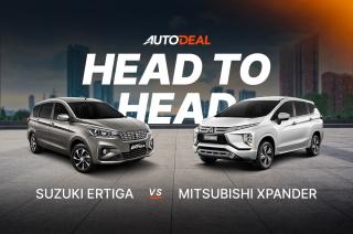 Head to Head: Suzuki Ertiga vs Mitsubishi Xpander