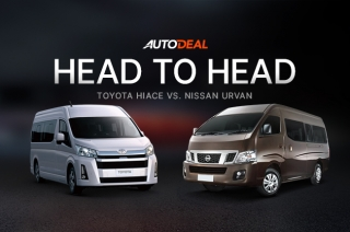 Head-to-Head: Toyota Hiace Vs. Nissan Urvan