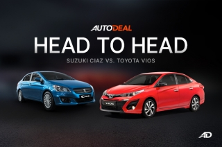 Head-to-Head: Toyota Vios vs Suzuki Ciaz