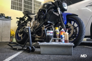 Here are some essential tools and equipment for motorcycle DIY tasks at home