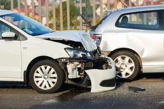 highspeed rear-end collision