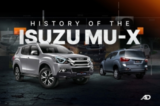 History of the Isuzu mu-X