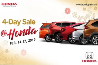 Honda 4-day sale