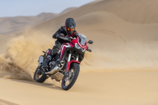 Honda Africa Twin Adventure Motorcycle