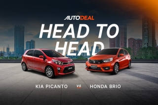 Honda Brio vs Kia Picanto Head to Head