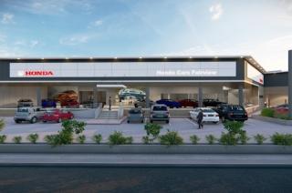 Honda Cars Fairview Render