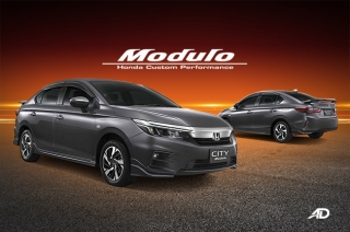 Honda Cars Philippines is offering an optional Modulo kit for the 2021 City