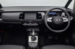 honda fit interior dials