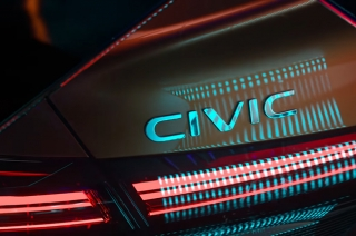Honda releases a teaser of the 2022 Civic ahead of its launch