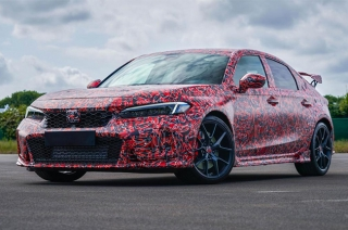 Honda releases teaser images of the upcoming 2022 Civic Type R