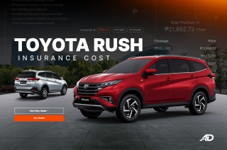 How much does it cost to insure a Toyota Rush
