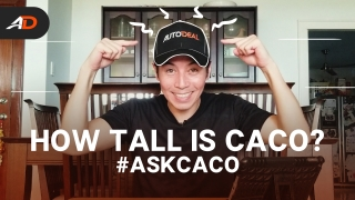 How tall is Caco? – Behind a Desk #AskCaco