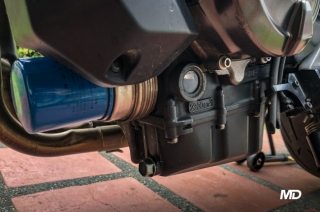 How to check your motorcycle's oil level