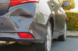 How to repair a bumper dent