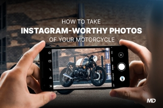 How to take better Instagram photos of motorcycles