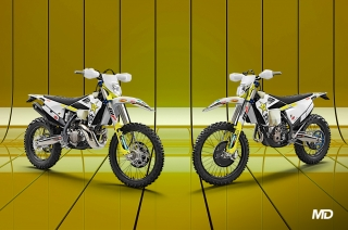 Husqvarna 2021 TE 300i And FE 350 Rockstar Enduros