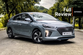 hyundai ioniq hybrid road test review philippines