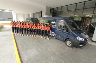 Hyundai PH partners with Mutya Pilipinas with a fleet of H350 vans