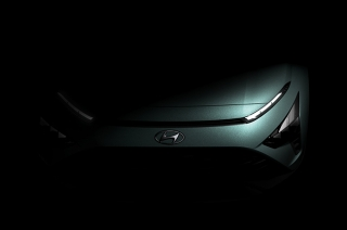 Hyundai releases teaser photos of its Bayon crossover