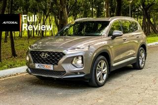 Hyundai Santa Fe road test exterior