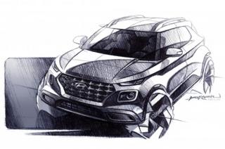 Hyundai Venue Concept Sketches