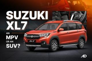 Is Suzuki XL7 more MPV or more SUV?