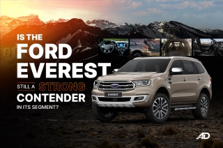 Is the Ford Everest still a strong contender in its segment?