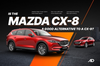 Is the Mazda CX-8 a good alternative to a CX-9?