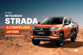 Is the Mitsubishi Strada a compelling option in its segment?