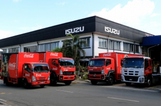 Isuzu Coca-Cola Trucks