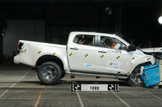 Isuzu D-Max ASEAN NCAP crash test