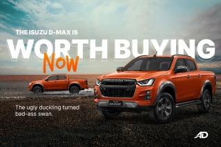 Isuzu D-MAX is worth buying