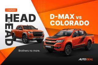Isuzu D-MAX vs Chevrolet Colorado