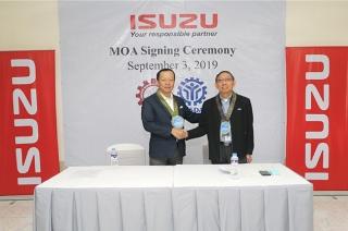 Isuzu JZGMSAT MOA signing philippines