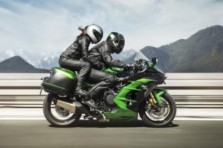 Kawasaki H2 SX Pillion Rider