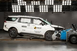 Kia Carnival A-NCAP Crash Test
