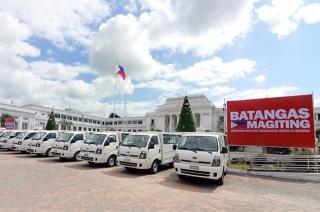 Kia K2500 donations to Batangas