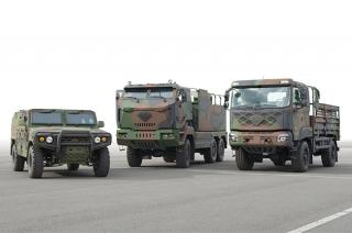 Kia Military Vehicles