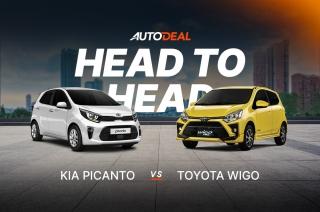 Kia Picanto vs Toyota Wigo