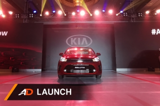 Kia relaunch with new Soluto - Launch