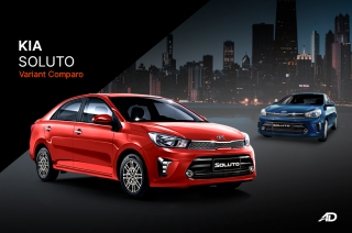 Kia Soluto Variant Comparison Guide