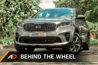 Kia Sorento Behind the Wheel