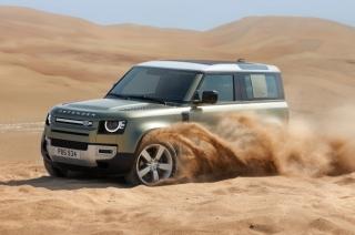 Land Rover Defender Sand Dunes