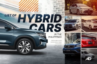 List of hybrid cars in the Philippines