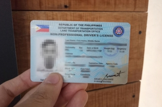 LTO license cover